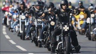 La parata delle Harley-Davidson invade Roma - 110th Anniversary Celebration in Rome, Italy