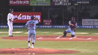 Mr. Murata 63-year-old measures 135 km/h in the first pitch ceremony.