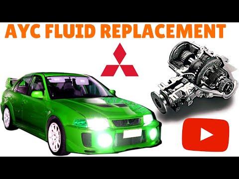 Mitsubishi Evo AYC Fluid Replacement & Bleeding with basic tools