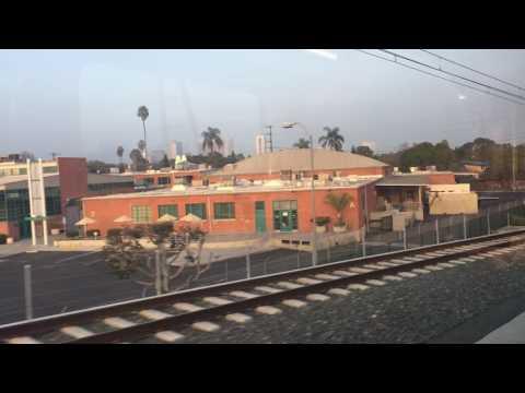 Ride LA Metro Expo Line from Santa Monica to La Brea