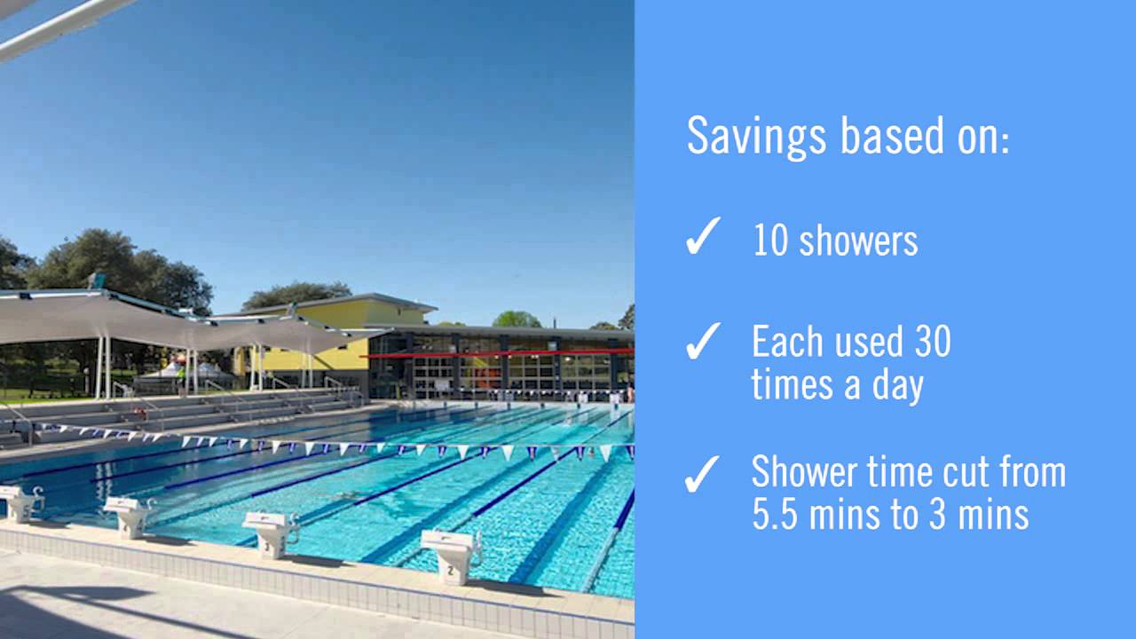 bathroom products at hornsby aquatic and leisure centre