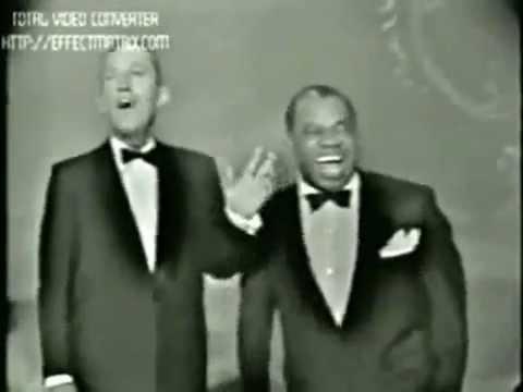 Louis Armstrong , Frank Sinatra, Peggy Lee, Bing Crosby 1959