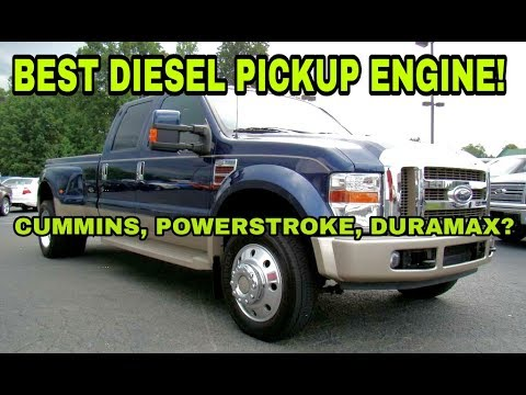 Best Diesel Engine Truck >> The Best Pickup Diesel Engine My Answer