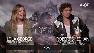 Mortal Engines in 4DX | Leila George & Robert Sheehan