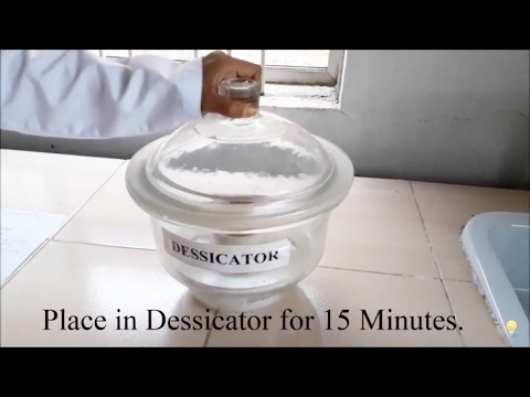Determination Of Moisture Content By Loss On Drying Method (मॉइस्चर कंटेंट  इन हिंदी)