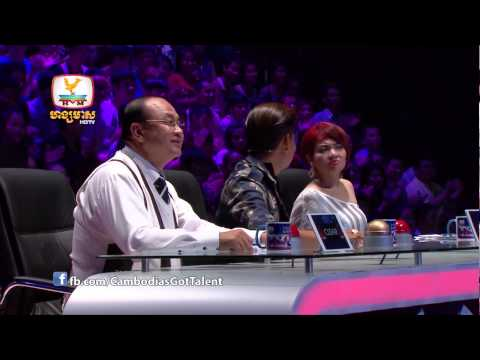 Cambodia's Got Talent - Judge Audition Week 1 - 30 Nov 2014