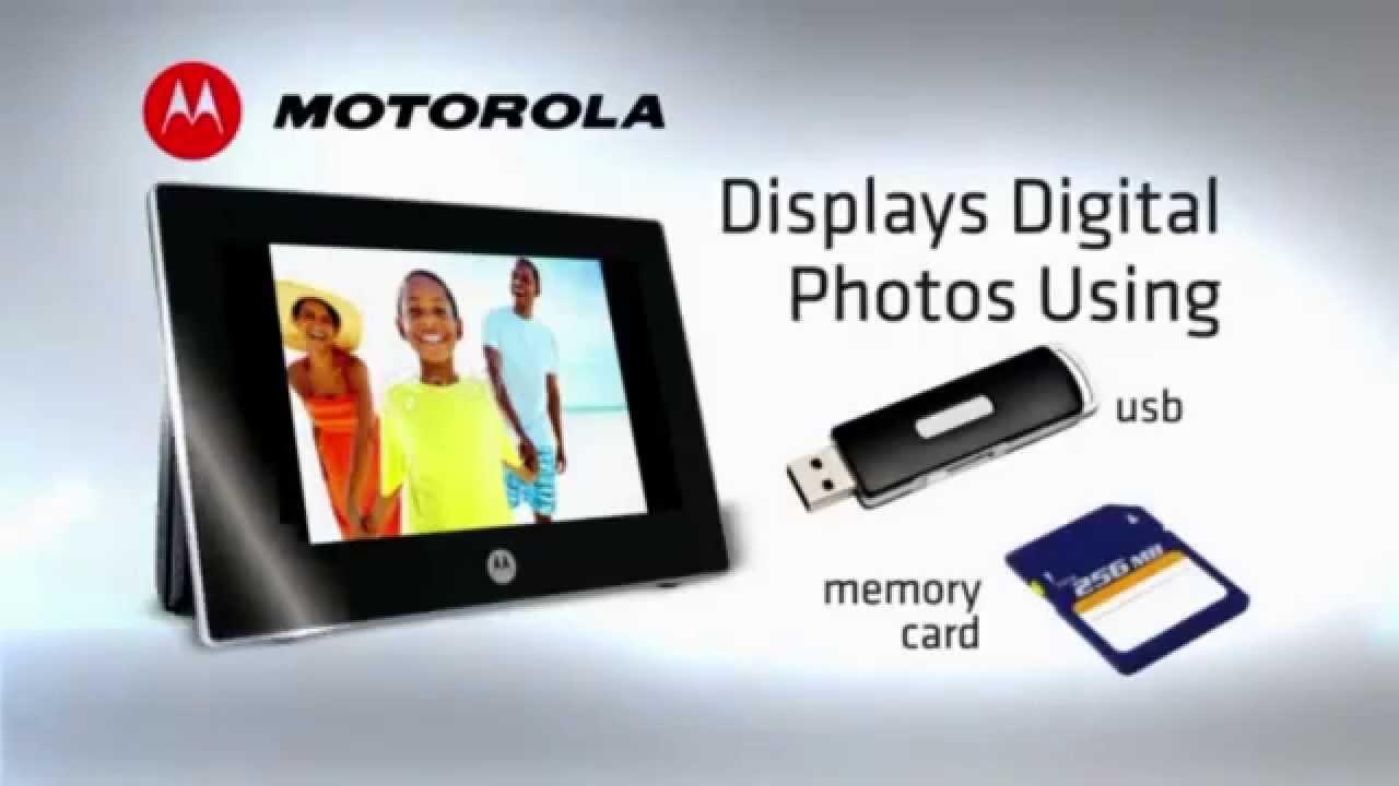 BABY CALL + PORTARETRATO DIGITAL MOTOROLA MFV7000 | Productos ...