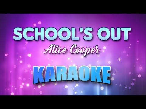 School's Out - Alice Cooper (Karaoke version with Lyrics)