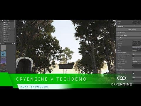 CRYENGINE V - Hunt: Showdown Tech Demo GDC 18