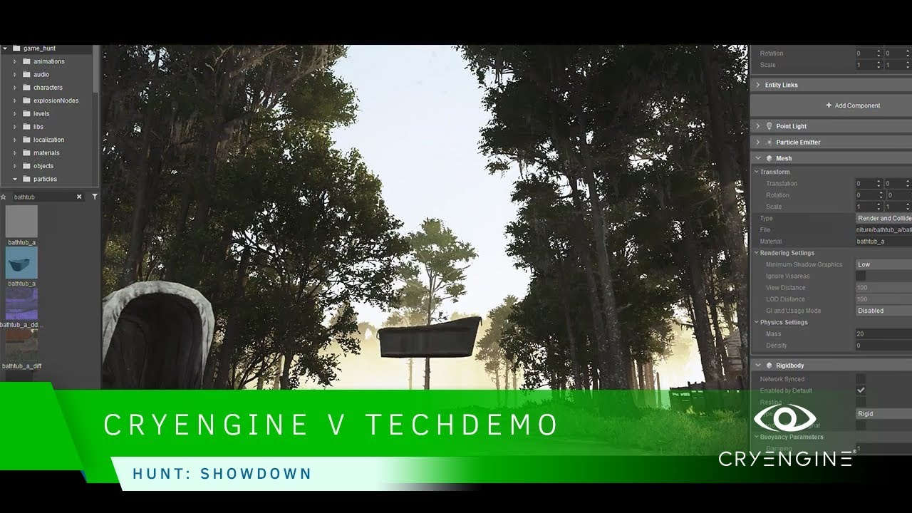 CRYENGINE V - Hunt: Showdown Tech Demo GDC 18