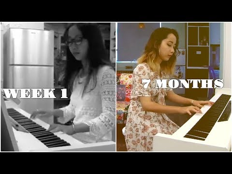 Adult Beginner Pianist - 7 month piano progress