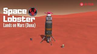 Space Lobster goes to Mars! 🚀🦀 (aka Duna - Kerbal Space Program)