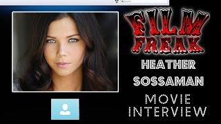 Heather Sossaman Talks about Unfriended   Film Freak Movie Interview