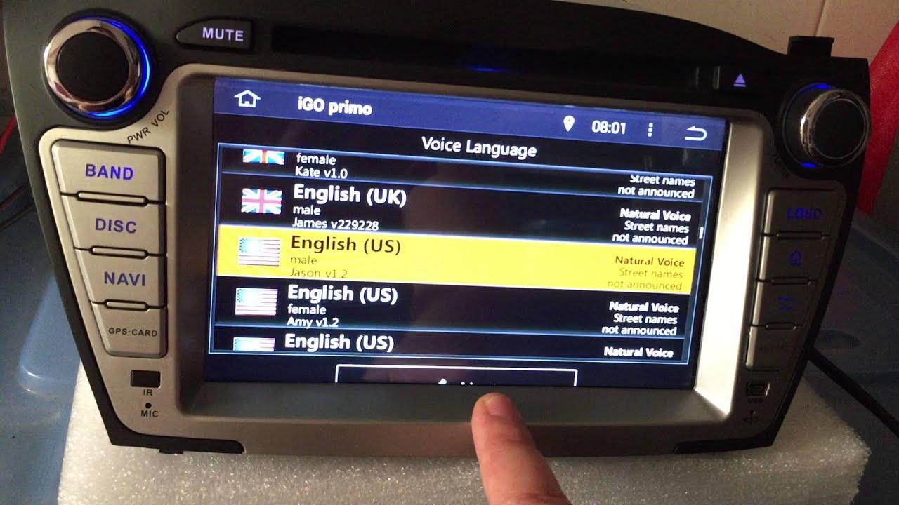 TLTek Android Car GPS Navigaiton Igo Map Install YouTube - Igo sd card us map download