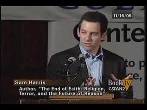 sam harris the end of faith essay Letter to a christian nation, by sam harris  honest criticism of religious faith a moral and intellectual necessity' harris's previous book, the end of faith,.