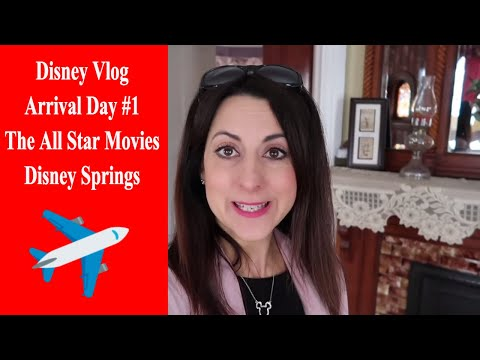 Disney Vlog Day 1 At The All Star Movies And Disney Springs