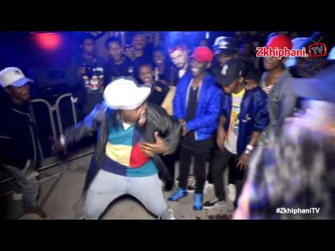 Stilo Magolide rocks a dancing circle in Braam
