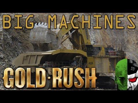 Gold Rush the Game: THE BIGGEST MINING MACHINES!  #7