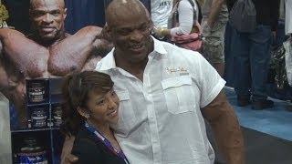 Ronnie Coleman at 2014 Fit Expo Los Angeles