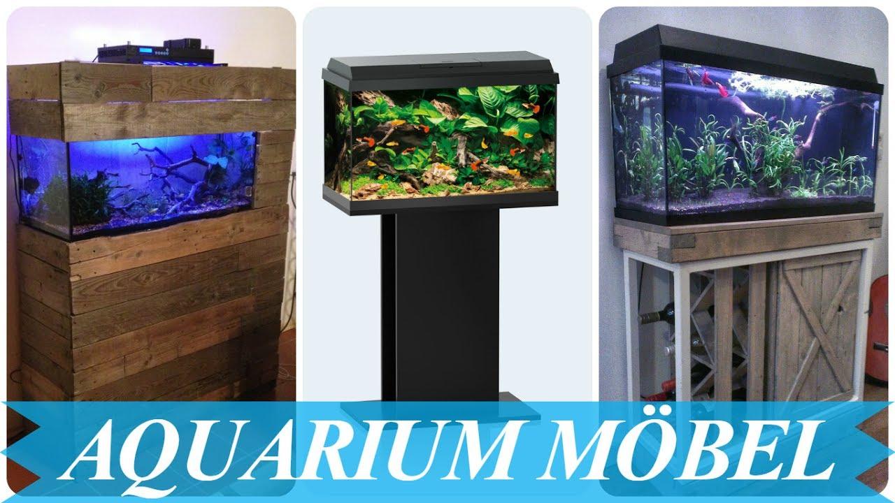 Schöne aquarium mit unterschrank - YouTube