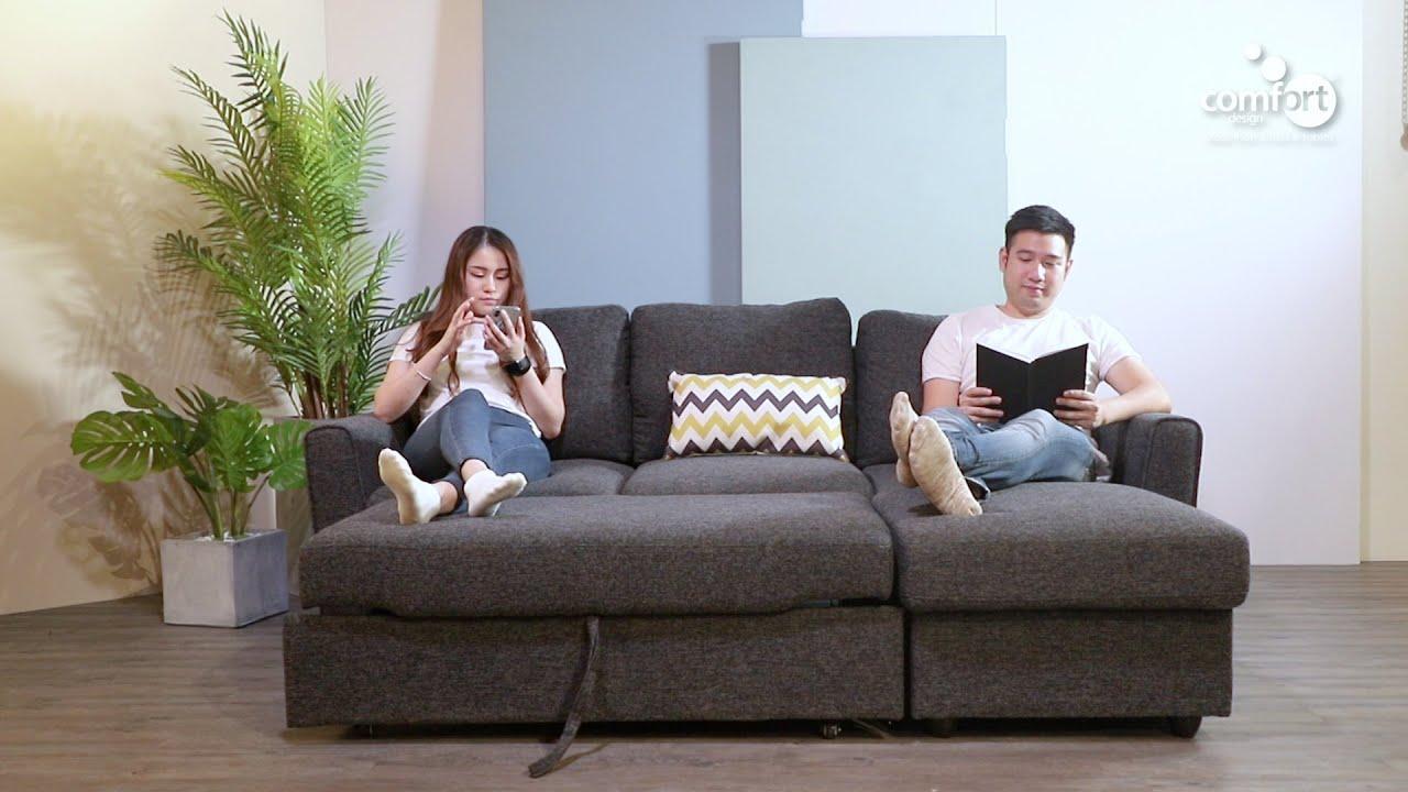 leonard l shaped sofa sofabed storage