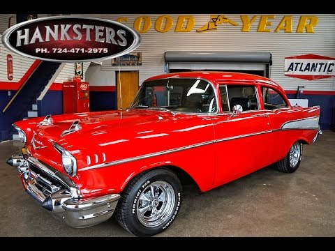 1957 Red Chevrolet Bel Air, 350ci Chevy Small Block