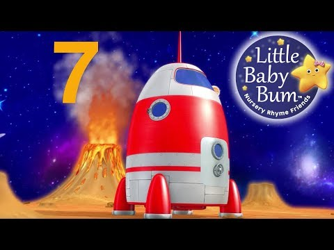 Numbers Song  Space Rocket Ship  Nursery Rhymes  Original Song  LittleBaBum!