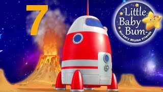 Numbers Song | Space Rocket Ship | Little Baby Bum | Nursery Rhymes for Babies | Songs for Kids