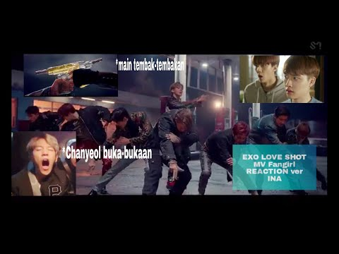 EXO (엑소)- Love Shot MV Fangirl REACTION Ver Indonesian
