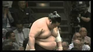 日馬富士 × 徳勝龍 2015/5/15 大相撲夏場所 6日目 西横綱 ハイライト.
