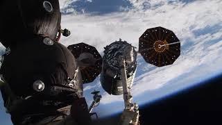 Cygnus OA-9E Abflug von der ISS