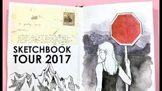 Sketchbook Tour 2017