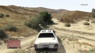 GTA V PS3 Gameplay / Walkthrough / 1080P Part 24  - Just Fun - Police chase, Driving a tractor