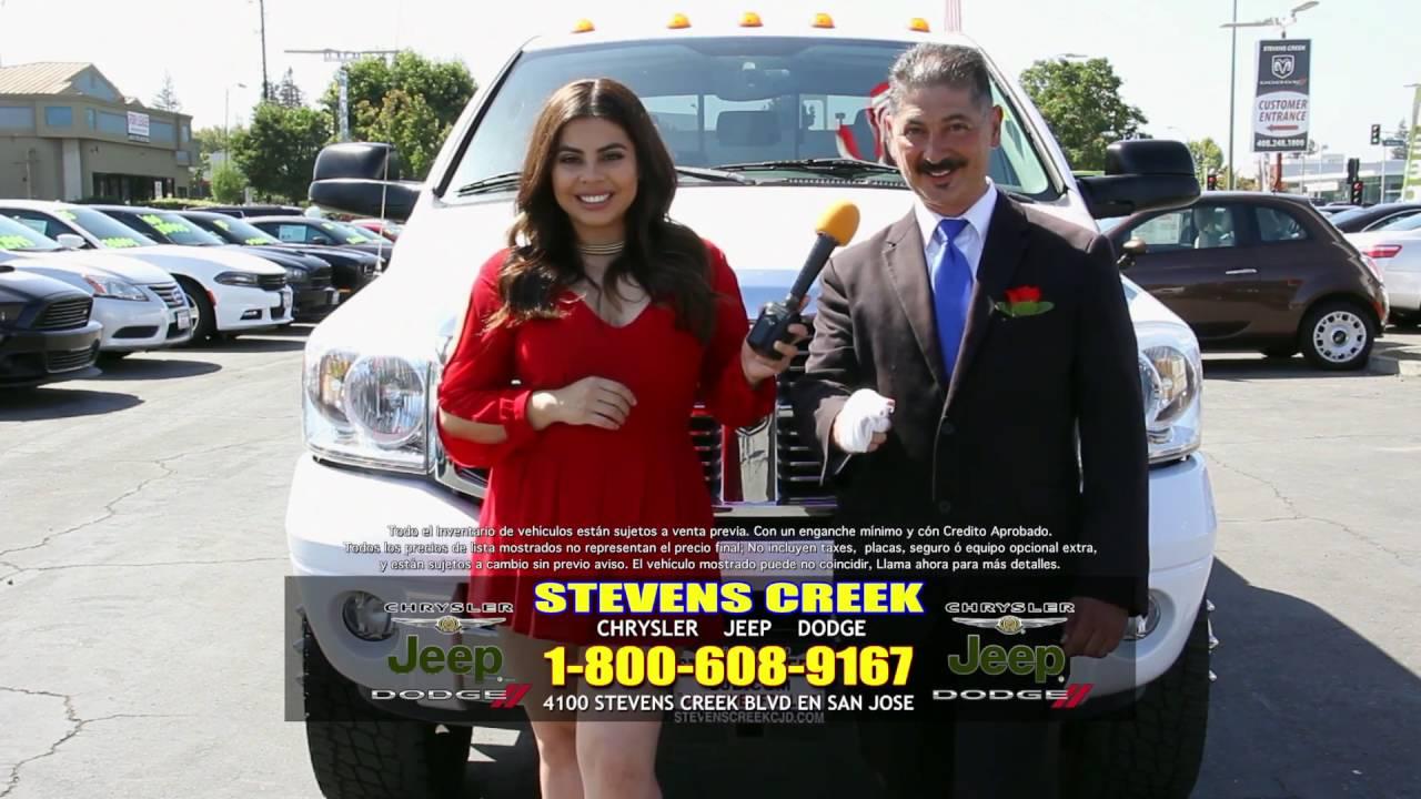 Stevens Creek Chrysler Jeep Dodge Spanish Tv Commercial Oct02