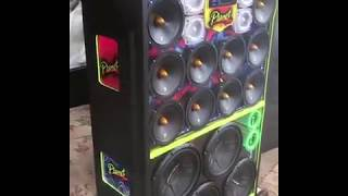 Caixa de som residencial 4 subwoofer Pioneer cara preta e 10 medio zetta áudio