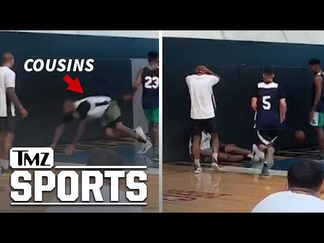 Video Shows DeMarcus Cousins' ACL Injury | TMZ Sports