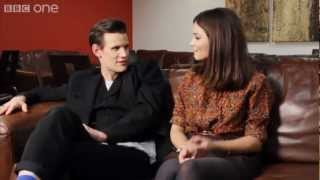 Doctor Who: Matt Smith and Jenna-Louise Coleman interview each other! - Christmas Special - BBC One