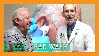 Close up Ear Washing AUTOMATED | Auburn Medical Group
