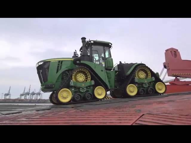 Arrivée du nouveau tracteur John Deere 9RX en Europe