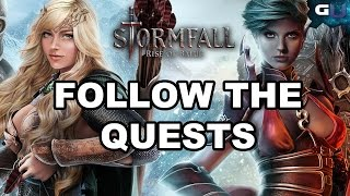 Stormfall: Rise of Balur - Guide to Follow the Quests