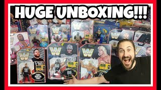 HUGE WWE MATTEL FIGURE UNBOXING!!! (July 2018)