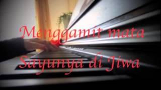 Ratu Syahadah ~~In-Team~~ Piano Cover With Lyrics, Sentimental Version :)