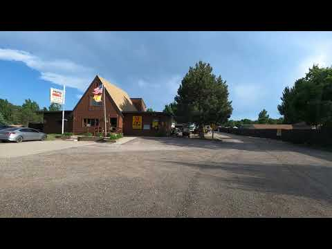 4K Driving from Deadwood to Spearfish, South Dakota