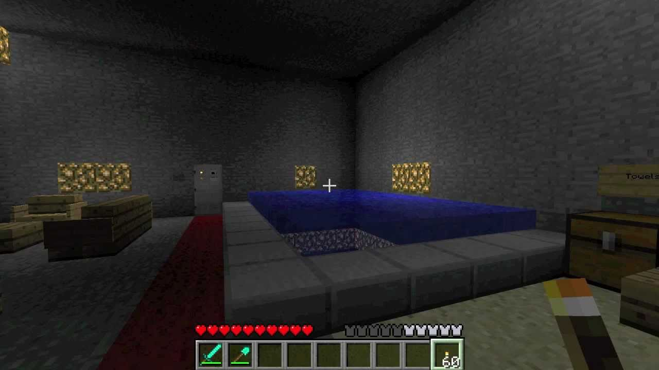 Minecraft CAVE HOUSE SECRET ROOM YouTube