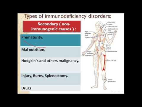 immunodeficiency diseases -- part 1