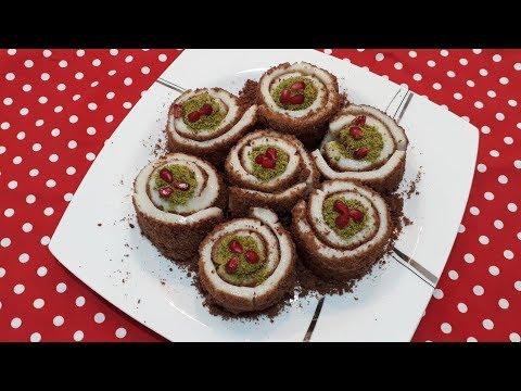 Bisküvili Goncagül Tatlısı / Gonca Gül Tatlısı/Sütlü Tatlılar/Bilik Ailesi Tatlı Tarifleri