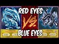 RED EYES vs BLUE EYES DECKS   Yugioh Deck Duel