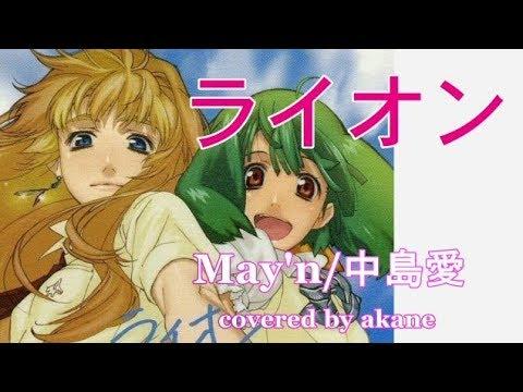 ライオン/May'n・中島愛 歌ってみた【cover】akane マクロスF - YouTube