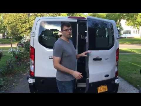 Family Review of Ford Transit Wagon 2016