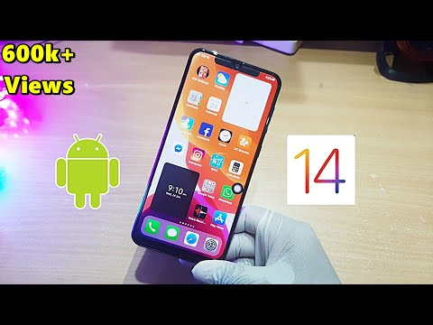 IOS 14 On Android | Change Your Device Look Like IOS 14 | Complete Setup